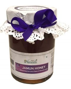Farm Naturelle (Farm Natural Produce) Raw Natural Unprocessed Jamun Flower Honey-815 Gms
