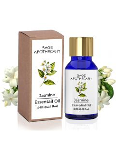 Sage Apothecary Jasmine Essential Oil - 10 ml