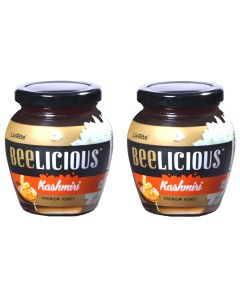 Beelicious Kashmiri Premium Honey - 250 grams (Pack of 2)