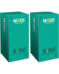 Moods Dotted Condom (Set of 2, 24S)