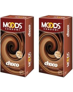 Moods Choco Condom (Set of 2, 24S)