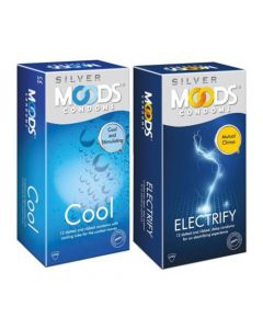 Moods Cool and Electrify Condom (Set of 2, 24S)