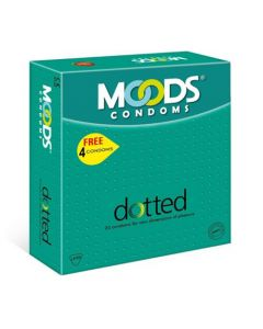 Moods Dotted 20's (Pack of 2) Condom (Set of 20, 40S)