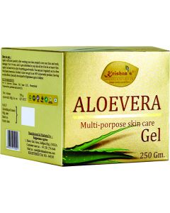 Krishna's Aloe Vera  Gel Natural Relief for All Skin 250 gm