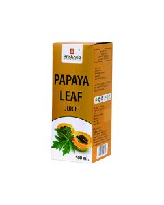 Krishna's Papaya Leaf Juice  Platelets and Immunity Booster 500 ml