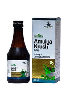 Amulya Krush Syrup For Kidney Stone- 200 ml