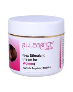 Lasky Herbal Allegance F Cream (Sex Stimulant Cream for Women) 50 g