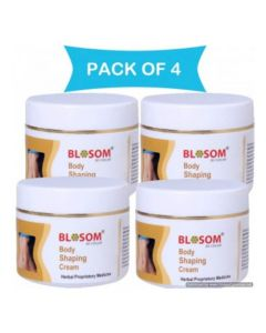 Lasky Herbal Blosom Body Shaping Cream 50 g (Pack of 4)