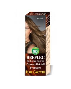 Lasky Herbal Reeflec Medicated Hair Oil for Hair Growth 100 ml