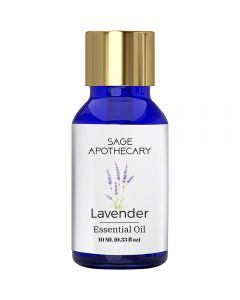 Sage Apothecary Lavender Essential Oil - 10ml