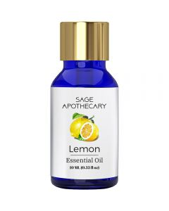 Sage Apothecary Lemon Essential Oil - 10ml