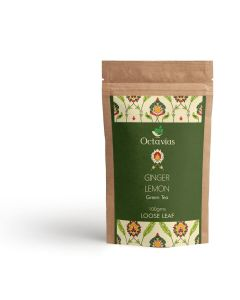 Lemon & Ginger Green Tea Pouch Pack