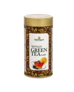 Nerogya Naturals Lemon Green Tea (Leaf) - 100g