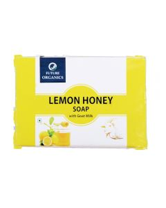 Future Organics Lemon Honey with Goat milk Bathing Soap - 100 gm