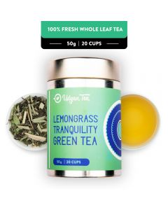 Udyan Tea Lemongrass Tranquility Green Tea Tin 50 g