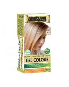 Indus Valley Gel Hair Color Light Blonde 8.0