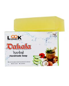 Look 18 Handmade Dakala Soap 75gm (Pack of 3)