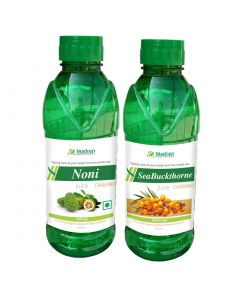 Madren Healthcare Noni & Seabuckthrone Juice 500ml (Combo Pack)