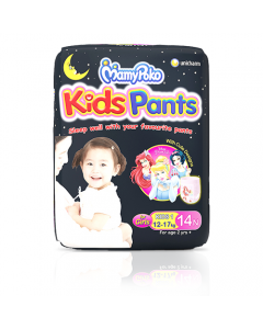 MamyPoko kids Pants kids1 girls pack 14