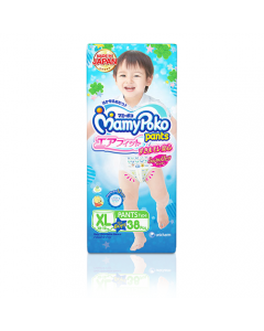 MamyPoko Pants Airfit X-large for boy pack of 38