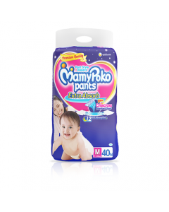 MamyPoko Pants Extra Absorb Diaper Medium Size pack 40