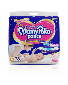 MamyPoko Pants Extra Absorb Diaper Small Size pack 78