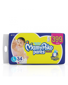 MamyPoko Pants Standard Large pack 34