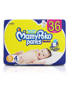 MamyPoko Pants Standard Small pack 4