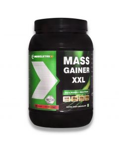 Muscletrex Mass Gainer XXl , Extra Rich Chocolate - 1 Kg(2.2lbs)