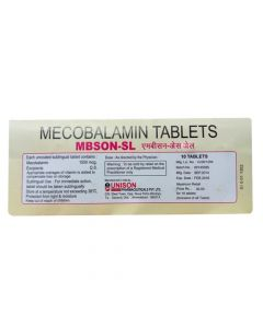 MBSON SL 10 Tablets (Pack of 5)