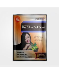 Medilexicon Hair Colour Sachet Dark Brown - 20gm