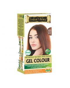 Indus Valley Gel Hair Color Medium copper blonde8.4