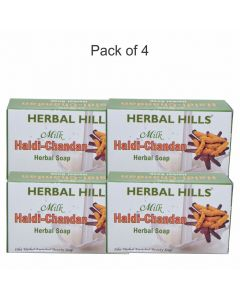 Milk Chandan Turmeric (pack of 4)