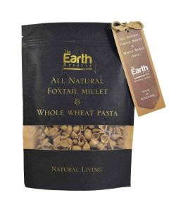 The Earth Reserve All Natural Foxtail Millet & Whole Wheat Pasta - 250gm