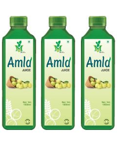Mint Veda Amla (Sugar Free) Juice (1liter) Pack of 2
