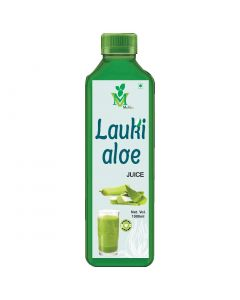 Mint Veda Lauki Aloevera (Sugar Free) Juice (1liter) Pack of 1