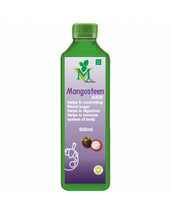 Mint Veda Mangosteen (Sugar Free) Juice (500ml) Pack of 1