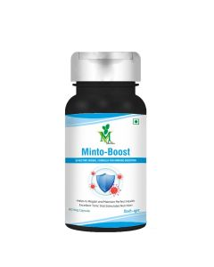 Mint Veda Mintoboost Vegetarian 60 Capsules Pack of 1