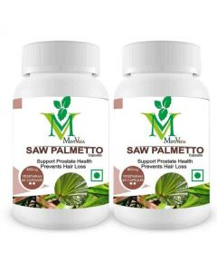 Mint Veda Saw Palmetto Vegetarian 60 Capsules Pack of 1