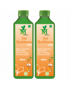 Mint Veda Sea Buckthorn (Sugar Free) Juice (500ml) Pack of 1