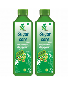 Mint Veda Sugar Care (Sugar Free) Juice (1liter) Pack of 1