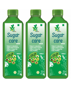 Mint Veda Sugar Care (Sugar Free) Juice (1liter) Pack of 2