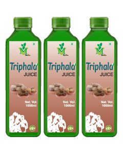 Mint Veda Triphala (Sugar Free) Juice (1liter) Pack of 2