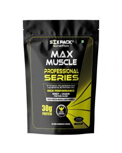 Six Pack Nutrition Max Muscle Professional Series - 4.5 Kg (Intense Chocolate)