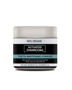 Mothers Man Charcoal Teeth Whitening Powder 50 gm