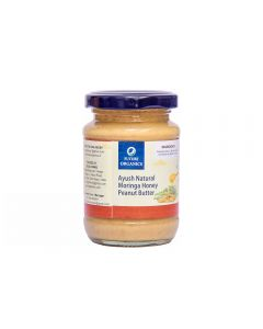 Future Organics Ayush Natural Moringa Honey Peanut Butter - 160 gm