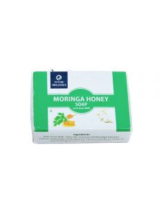 Future Organics Moringa Honey with Goat milk Bathing Soap - 100 gm
