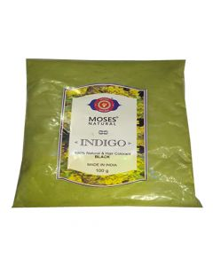 Moses Natural Indigo - 100gm