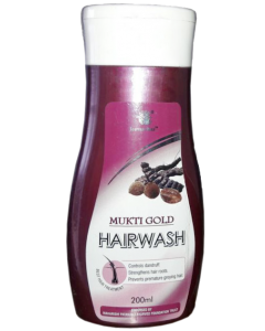 Mukti Gold Hairwash Shampoo 200ml