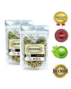 N2B A++ Grade Green Coffee beans 200g (Pack of 2)